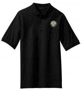 Seaboard Coast Line Embroidered Polo  [79]
