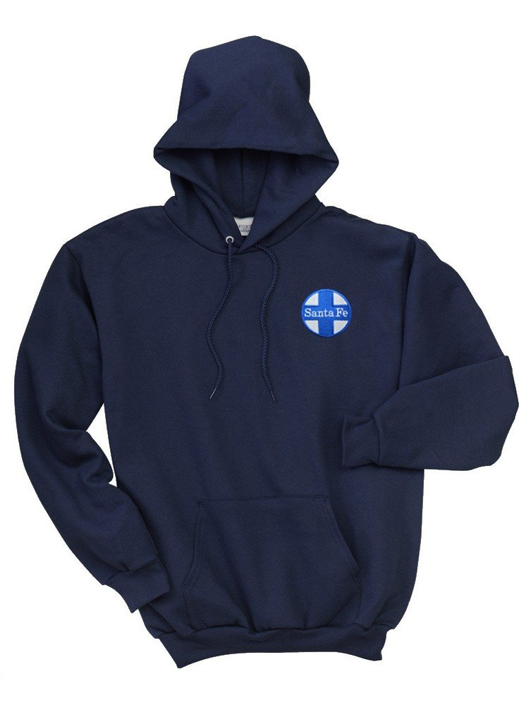 AT&SF Santa Fe Blue Cross Pullover Hoodie Sweatshirt [16]